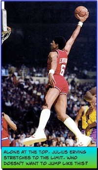 Julius Erving Dunks