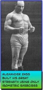 Alexander Zass Isometric Strength Training