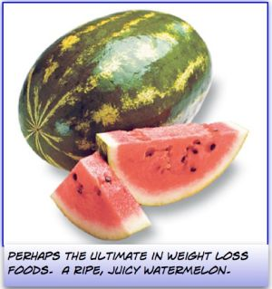 Weight Loss Foods - Watermelon