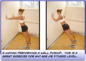 The Wall Pushup - A Great Chest Exercise