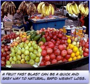Fruit can be a useful ally for rapid weight loss